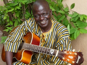 Master Musician and teacher Lamine Soumano